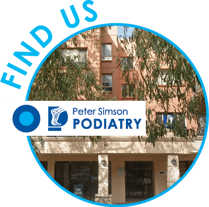Find Peter Simson Podiatry